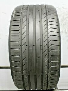 One Used 315 35r20 3153520 Continental Conti Sport Contact 5 Ssr Bmw 9 32 2j197
