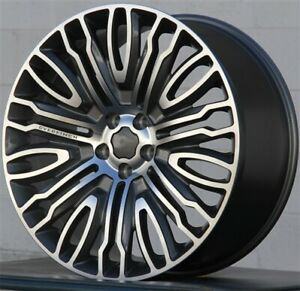 4 set 22 22x10 Wheels 5x120 Fits Range Rover Sport Hse Supercharged Overfinch