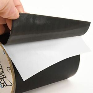 Patch Shield Power Tape Black All Weather Patch Tape 4 X 5 Feet usa Made