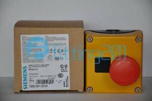 New Siemens Emergency Stop Button Switch Box 3sb3801 0dg3