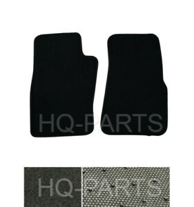 New 2 Pieces Black Nylon Carpet Floor Mats Fit For 96 02 Ford Ranger