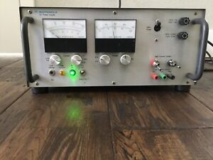 Motorola R 1011b 600w Dc Power Supply Dual Analog Meter