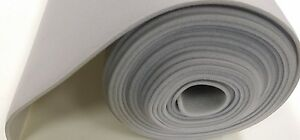 Auto Headliner 3 16in Foam Backing Fabric Material 46 In X 60 Light Gray