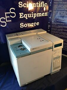 Hp Gc 6890 Plus With Single Injectors And Single Tcd Detector Pc With Sw
