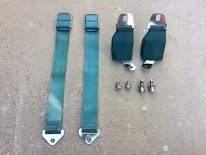1964 1965 1966 Ford Mercury Seat Belts With Retractors Galaxie Fairlane Fomoco