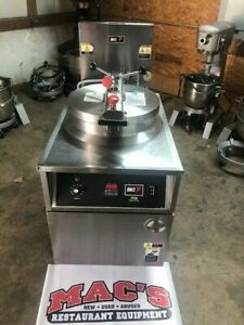 Bki Pressure Fryer model Fkm Unit Is 3 Phase