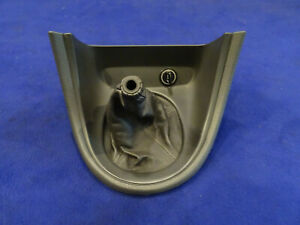 03 04 Ford Mustang Cobra 5 Speed Manual Leather Shift Shifter Boot Bezel Oem