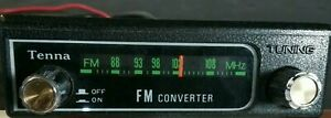 Vintage Tenna Fm Converter Model 50401 Classic Car Collectible