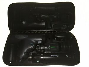Welch Allyn Panoptic Coax Ophthalmoscope Otoscope Sphygmometer Med School Kit