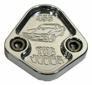 Fuel Pump Block Off Plate Fits Pontiac 455 Gto Judge Engines F029