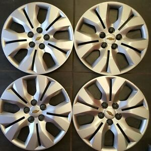 Chevy Cruze 2012 2016 Hubcaps Genuine Gm Factory Oem 3294 Wheel Covers 4 Pack