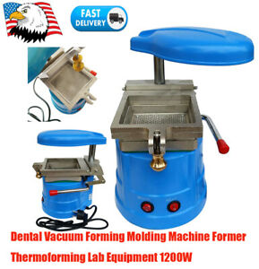 Dental Vacuum Forming Molding Machine Heat Former Thermoforming Lab Equip 1200w