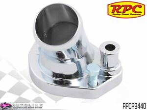 Rpc Chrome Steel Thermostat Housing For Ford V8 289 302 351 Windsor Rpcr9440