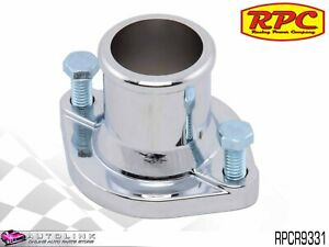 Rpc Chrome Steel Thermostat Housing For Ford Cleveland 302 351 V8 Rpcr9331