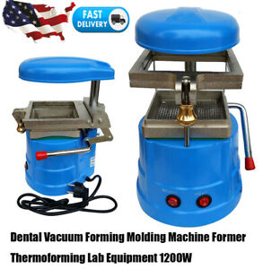 Dental Vacuum Forming Molding Machine Heat Former Thermoforming Lab 1200w