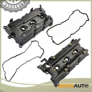 2 Valve Cover W Gasket Kit For 2002 2006 Nissan Murano Quest Maxima Altima 3 5l