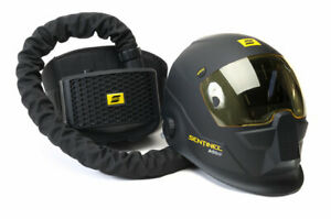 Esab Sentinel Airfed Welding Shield Helmet C w Papr For Air Free Uk ire Ship