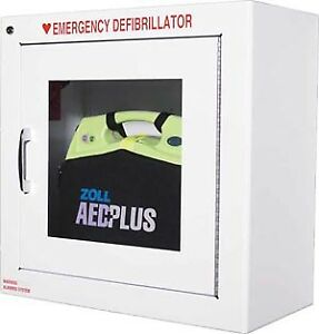 Zoll Aed Defibrillator Metal Wall Cabinet With Alarm