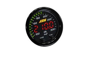 Aem Electronics X Series Digital Water Oil Trans Temperature Temp Gauge 30 0302