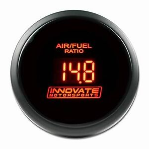 Innovate Motorsports Db Air Fuel Ratio gauge Only W Red Led 3794 Afr 52mm