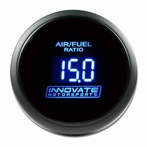 Innovate 3795 Wideband Air Fuel Db Gauge 52mm Afr Uego Blue Lc 2 Made In Usa