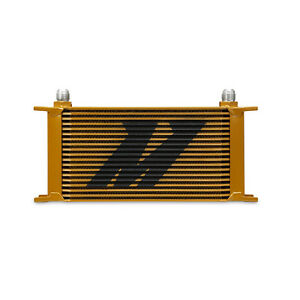 Mishimoto Mmoc 19g Universal Performance Gold 19 Row Oil Cooler 10an an10