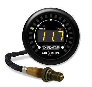 Innovate 3918 Mtx L Wideband Gauge Afr W O2 Uego Sensor New Replaces 3844