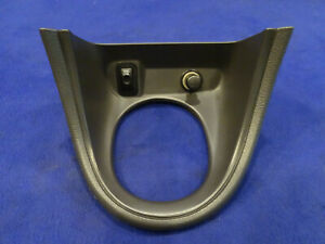 99 00 Ford Mustang Auto Automatic Shift Shifter Boot Bezel With Traction Oem 5