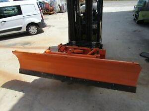 Snow Plow Skid Steer 94 X 24 Blade Attachment Universal we Ship Freight