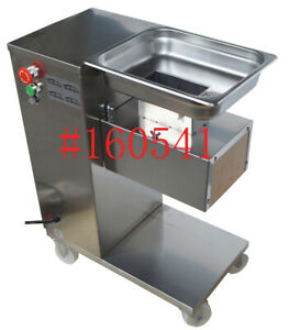 Commercial household Use New Qe Stainless Meat Slicer Without Blades us Shipping