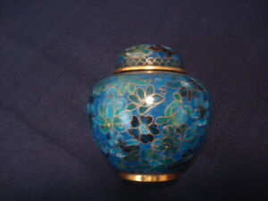 Antique Chinese Cloisonn Ginger Jar Imperial