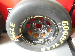 Nice Nascar Tire And Rim Used From Richard Petty Racing 44 45