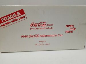 DANBURY MINT - COCA COLA -1940 SALESMAN'S CAR
