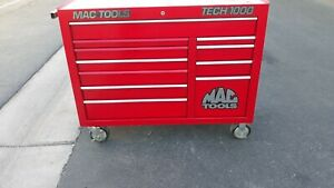 Matco Tech 1000 Tool Box With Lots Of Tools