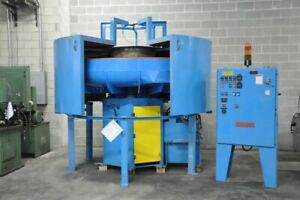 1996 Almco Or25vlr 25 Cubic Foot Vibratory Finisher