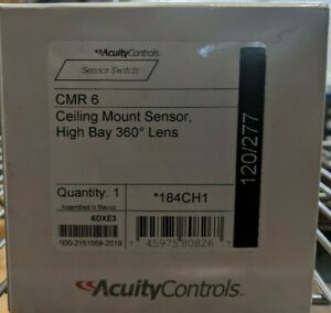 Sensor Switch Cmr 6 High Bay Sensor Ceiling Mount Occupancy Sensor Brand New