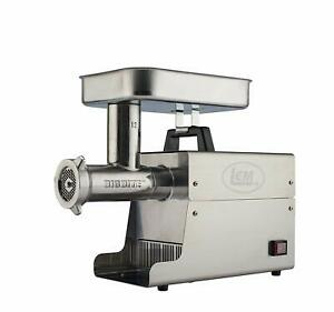 New Lem Products 17801 Big Bite 12 75hp Stainless Steel Electric Meat Grinder