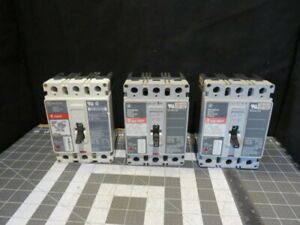 Hmcp Westinghouse Cutler Hammer Circuit Breaker 3 Pole 600vac 250 Vdc Tested