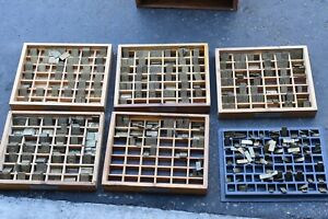 George Gorton Machine Co Brass Letters Numbers Engraving