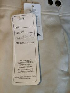 Cambrai Collection Brand New With Tags Breeches Size 24l