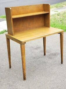 Remington Rand Desk Antique Library 1940s 1950s Mid Century Table Industrial