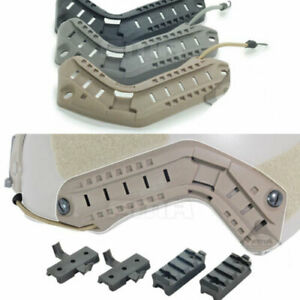 FMA OPS Helmet Accessory Rail Mount Kit Helmet Rail guide DE BK FG TB290 $12.63
