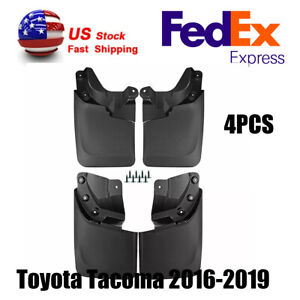 Mud Flaps Splash Guards Toyota Tacoma Accessories 2016 2019