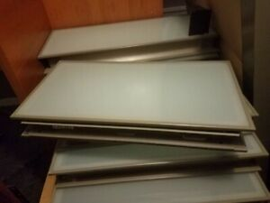 Steelcase Glass Top Panel Partition Ts71230dpw