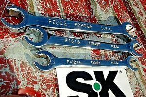 Sk Tools Flare Nut Line Wrench Set