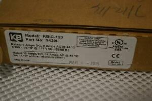 One Used Kb Electronics Dc Motor Speed Control model Kbic 120 9429l