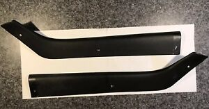 1969 1970 Mustang Fastback Original Rear Non Fold Down Hockey Stick Panels