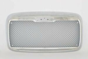 00 12 Freightliner Columbia Front Grille W Bug Screen Chrome Custom Mesh Style