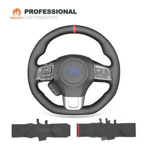 Diy Genuine Leather Steering Wheel Cover For Subaru Wrx sti Levorg 2015 2019