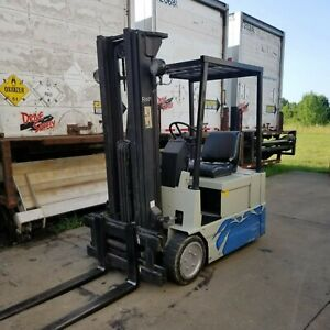 Electric Forklift Yale Erp030tce36se083 3000 Great Condition Custom Paint